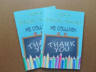 Personalised 8 Page Thank You Teacher Booklet